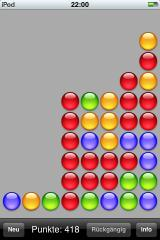 reMovem iPhone Remove the blues on the right to increase the possible score for the red ones.