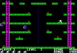 Jumpman Apple II Bombs away!