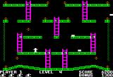 Jumpman Apple II Level 4 is called jumping blocks