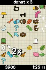 Doodle Find iPhone Find three or more doodles quickly enough and you'll earn a score multiplier