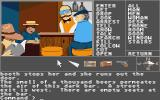 Borrowed Time Atari ST Some interesting characters here