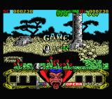Sirwood MSX Game over