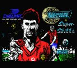 Michel Futbol Master + Super Skills MSX Loading screen for either game