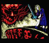 Satan MSX Loading screen