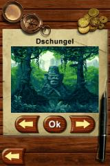Know How: Think and play outside the box! iPhone Jungle area title screen
