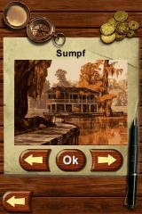 Know How: Think and play outside the box! iPhone Swamp area title screen