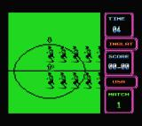 Rick Davis's World Trophy Soccer MSX The players take the field.