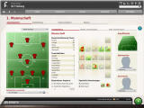 FIFA Manager 10 Windows The tactical menu (demo version)