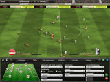 FIFA Manager 10 Windows The tactical menu during the match (demo version)