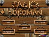Jack's Sokoman Windows Title screen