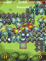 Fieldrunners J2ME After a while it's getting quite chaotic