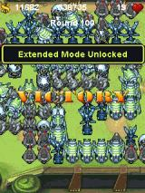 Fieldrunners J2ME Level completed
