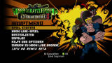 Wolf of the Battlefield: Commando 3 Xbox 360 Menu screen