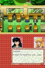 InuYasha: Secret of the Divine Jewel Nintendo DS Kagome meets Janis in the intro animation.