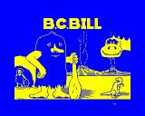 B.C. Bill BBC Micro Title screen