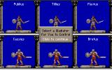 Centurion: Defender of Rome DOS Choose your gladiator hero!