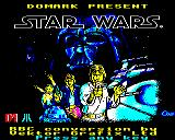 Star Wars BBC Micro Title screen