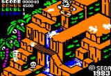 Congo Bongo Apple II Gameplay on the first level