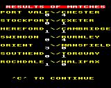 League Challenge BBC Micro Results