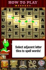 Bookworm Deluxe iPhone How to play