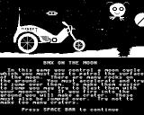 BMX on the Moon BBC Micro Introduction.