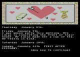The Secret Diary of Adrian Mole Aged 13¾ Atari 8-bit Mrs.Lucas is concreting the front of their house. Mr. Lucas made her a cup of tea.