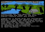 The Archers Atari 8-bit Choose what to do.