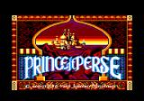 Prince of Persia Amstrad CPC Title screen (French version)