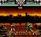 Saban's VR Troopers Game Gear Facing Tankotron