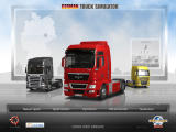 German Truck Simulator Windows Main menu (demo version)