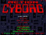 Action Cyborg Windows Title screen