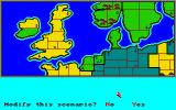Storm Across Europe Amiga It's possible to change the starting situation
