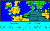 Storm Across Europe Amiga Main screen