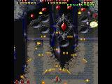 Raiden II Windows Boss 8. with 8 red rubies.