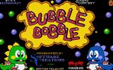 Bubble Bobble Atari ST Title screen