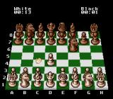 The Chessmaster SNES I moved a pawn and black moved a knight.