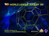 World League Soccer '98 Windows Title screen