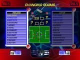 World League Soccer '98 Windows Player and formation selection