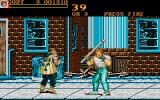 Final Fight Atari ST Gas pipe is useful thing