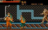 Final Fight Atari ST Subway tunnel