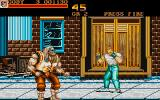 Final Fight Atari ST First Boss