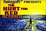 The Hunt for Red October Apple II Title
