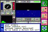 The Hunt for Red October Apple II Sonar contact