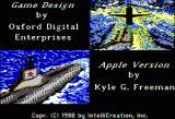 The Hunt for Red October Apple II Credits