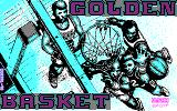 Golden Basket DOS Title screen (CGA)