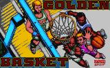 Golden Basket DOS Title screen (VGA)
