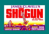 James Clavell's Shogun Amstrad CPC Title screen and credits