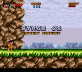 Prehistorik Man SNES Stage 2: Ancient bridges