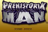 Prehistorik Man Game Boy Advance Title screen
