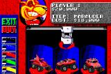 Rock 'n Roll Racing Game Boy Advance Select your car and color.